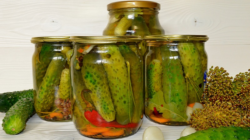 Лучшие рецепты: маринованные хрустящие огурцы с острым перцем на зиму