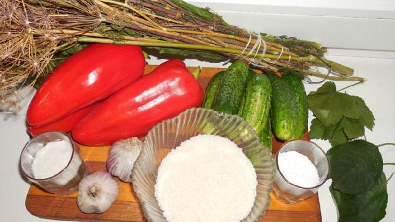 Лучшие рецепты летних заготовок: огурцы маринованные с болгарским перцем на зиму